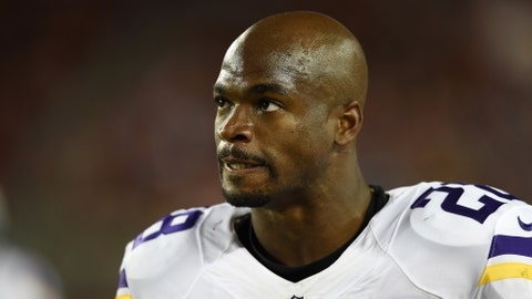 RB Adrian Peterson: Raiders