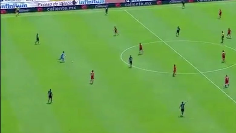 Watch a goalkeeper try to dribble up and start the attack, only to turn it over for an awful goal