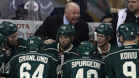 Bruce Boudreau's playoff demons are still present