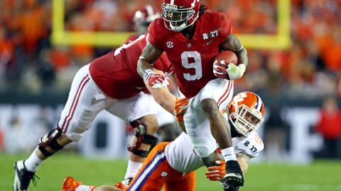 Raiders: Bo Scarbrough, RB, Alabama