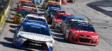 Starting lineup for Monday's Food City 500 at Bristol Motor Speedway