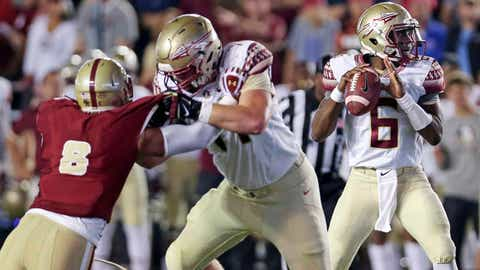 49ers (From Saints): Brock Ruble, OT, Florida State