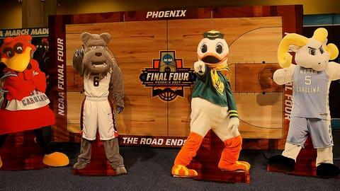 Final Four mascots