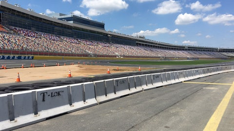 But how do you think it will work out specifically on Charlotte Motor Speedway?