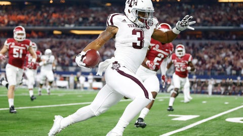 Panthers: Christian Kirk, WR, Texas A&M