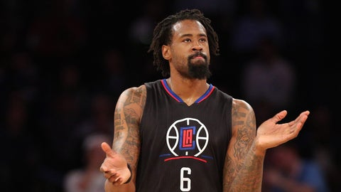 DeAndre Jordan, C, Los Angeles Clippers