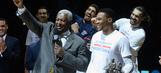 PHOTOS: Oscar Robertson honors Russell Westbrook