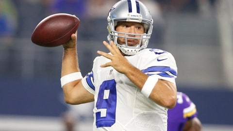 Romo's financial security played a big part in his decision