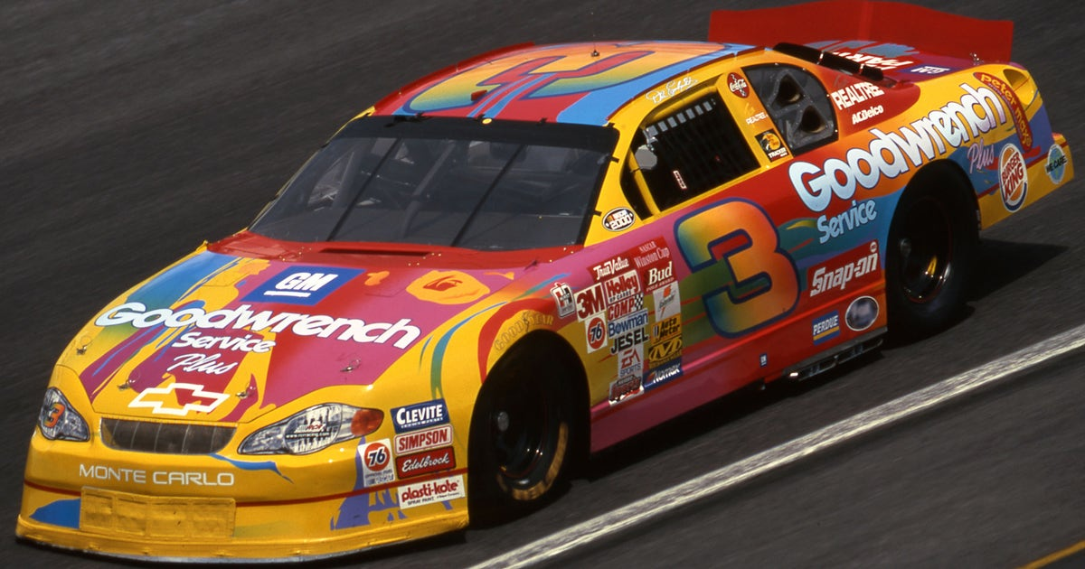 brightest  colorful paint schemes  nascar   years fox sports