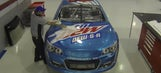Dale Earnhardt Jr. unveils new paint scheme for Kansas