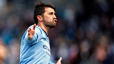 New York City FC - David Villa: $5.61 million
