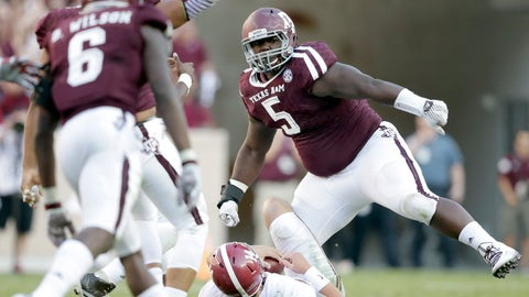 Packers: Daylon Mack, DL, Texas A&M