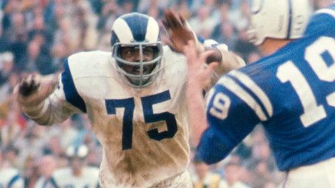 Los Angeles Rams: DE Deacon Jones, 14th round (186 overall), 1961