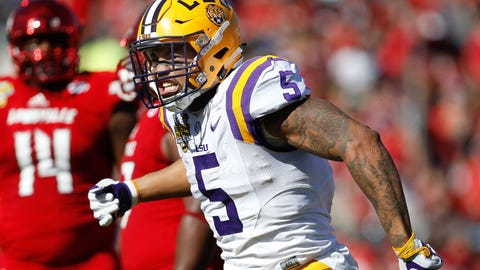 Bills (From Chiefs): Derrius Guice, RB, LSU