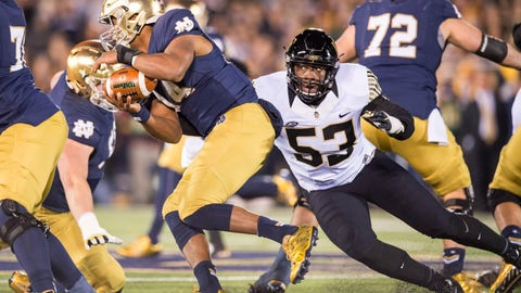 Cowboys: Duke Ejiofor, DE, Wake Forest