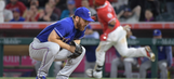 Sam Dyson struggles in Rangers' loss to Angels in 10
