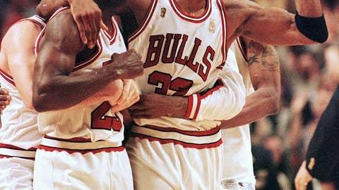 Year Eight (LeBron James: 2010-11; Michael Jordan: 1991-92)