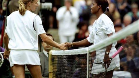 1994 Wimbledon; unseeded Lori McNeil d. No. 1 Steffi Graf