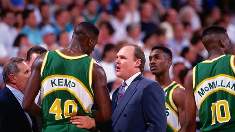 1994 NBA playoffs; No. 8 Nuggets over No. 1 Sonics