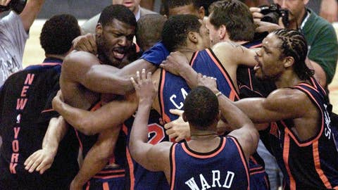 1999 NBA playoffs; No. 8 New York d. No. 1 Miami