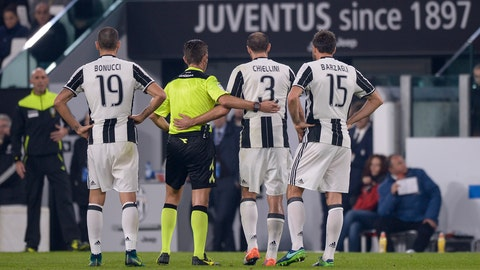 Juventus have to defend with their lives