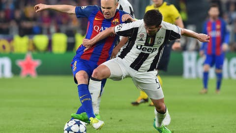 Keep Andres Iniesta out of the game