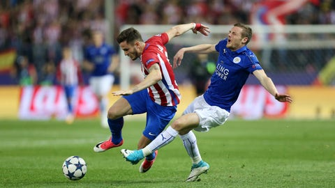 Leicester never stopped fighting and it gave them a chance for the second leg