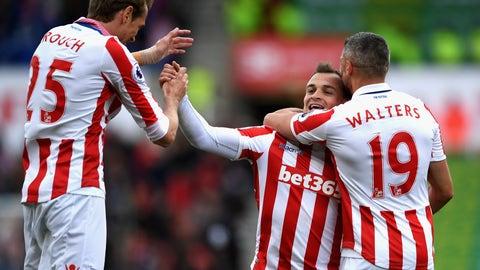 Stoke back