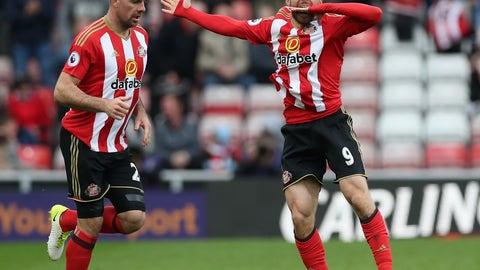 ↓ Relegated: Sunderland