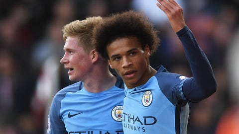 Can the Leroy Sane-Kevin de Bruyne partnership keep flourishing?