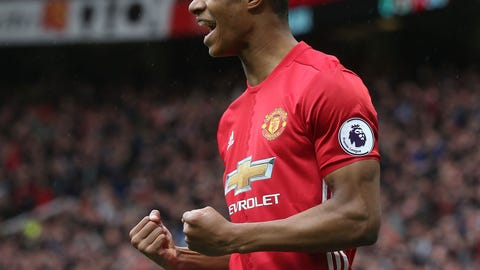 This was Marcus Rashford's best performance