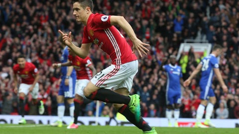Ander Herrera was the star