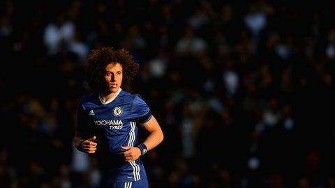 David Luiz was brilliant