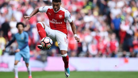 Alex Oxlade-Chamberlain was Arsenal's best player again