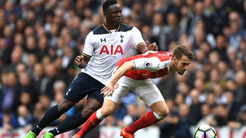 Spurs' physicality in the center stifled Arsenal