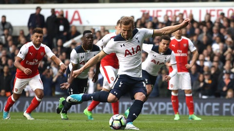Harry Kane continues to torment Arsenal