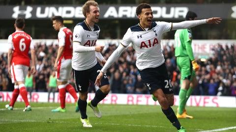 April 30th: Tottenham 2-0 Arsenal