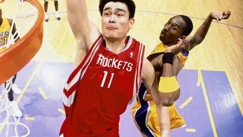 Yao Ming, Houston Rockets, 2002-11