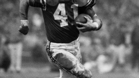 Tom Matte, 1961 — Round 1, Pick 7 (Baltimore Colts, NFL) and Round 5, Pick 37 (New York Titans, AFL)