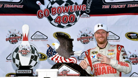He's been red-hot at Pocono