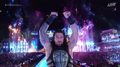 Roman Reigns defeated The Undertaker