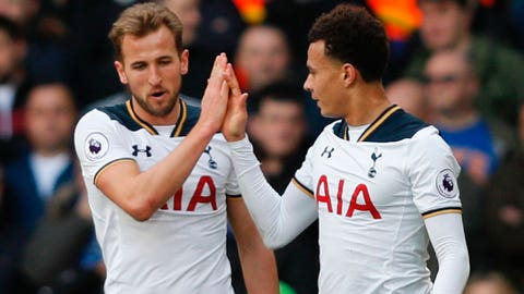 Tottenham — vs. Man United (May 14)