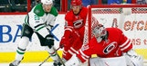 Stars shut out Hurricanes on the road