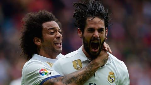 Real Madrid's attack sans Gareth Bale