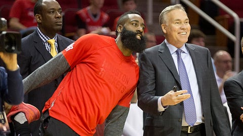 Coach of the Year: Mike D'Antoni, Houston Rockets