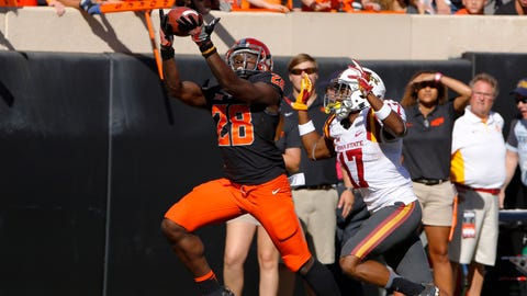 Browns:	James Washington, WR, Oklahoma State