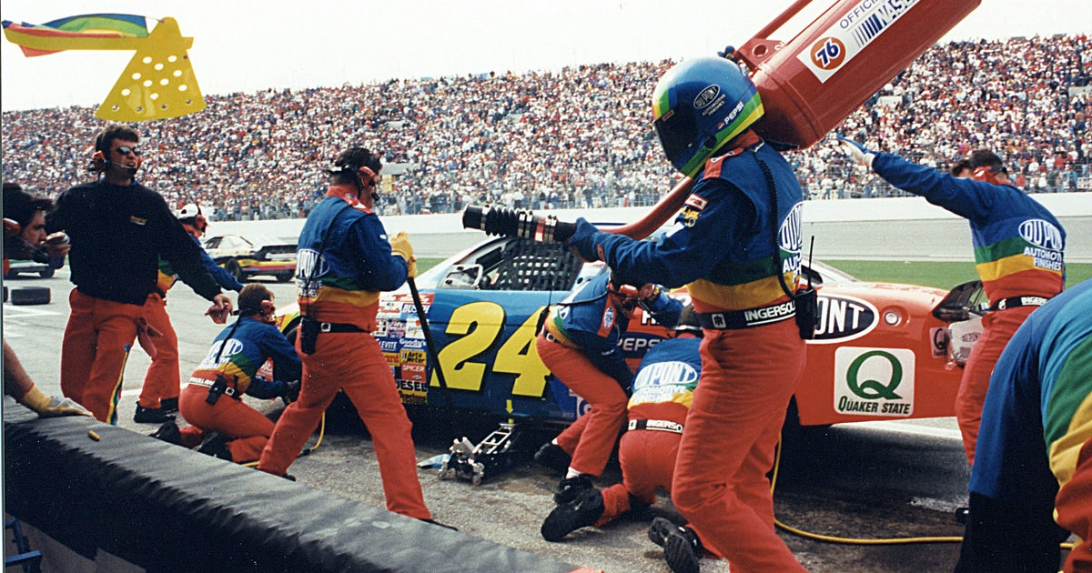 The Evolution And Athleticism Of A Nascar Pit Stop Through