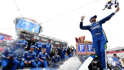 3. Jimmie Johnson, 10