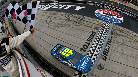 2. Jimmie Johnson, 10
