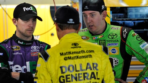 When does Joe Gibbs Racing finally win?